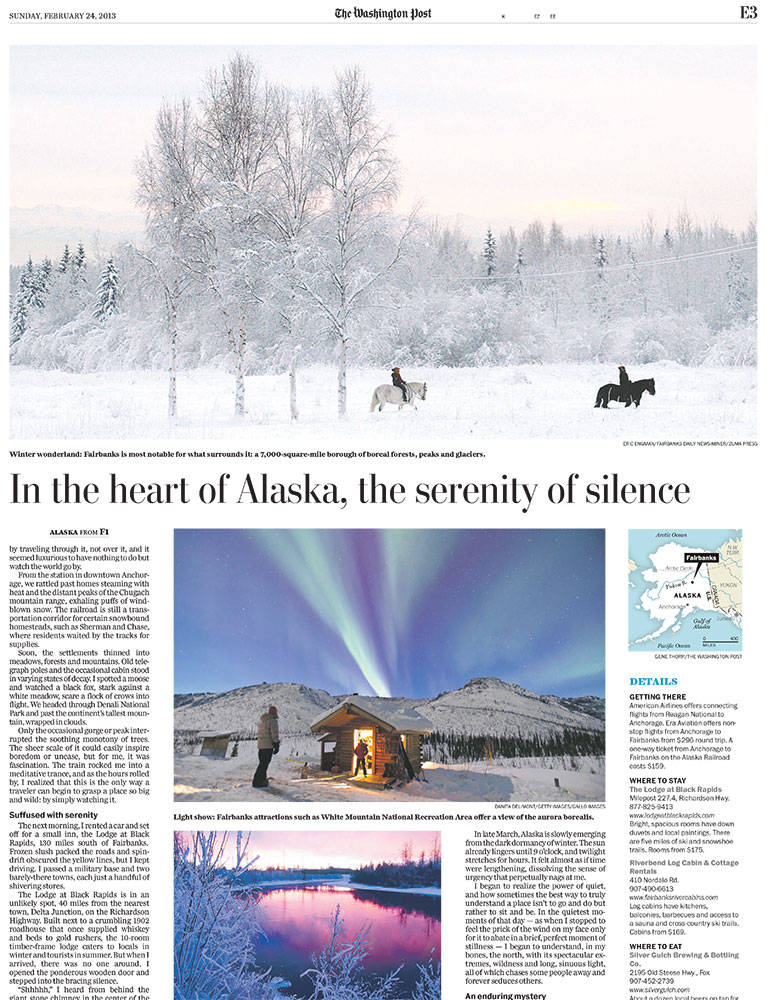 In The Heart Of Alaska, Serenity Springs Eternal